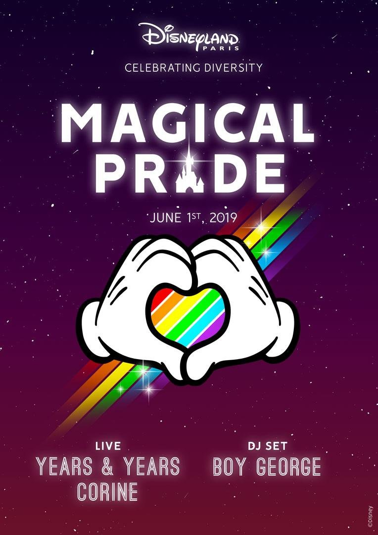 Disneyland Paris - Magical Pride