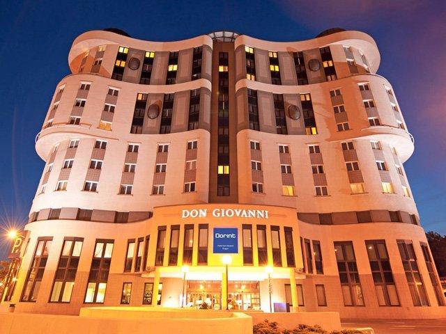 Praag - Hotel Don Giovanni **** - aanzicht
