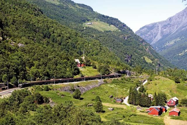 Noorwegen - treinreis Flambahnen