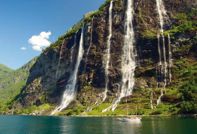 Noorwegen - boottocht Hardangerfjord