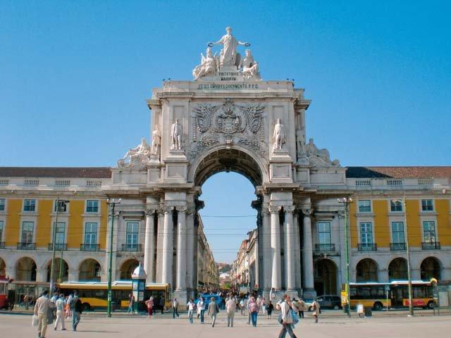 Portugal - Lissabon - straatbeeld