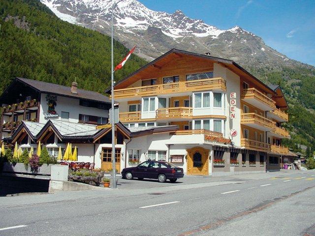 Saas-Grund - Hotel Eden *** - aanzicht