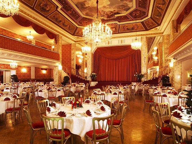 Wenen - Parkhotel Schönebrunn **** - restaurant & balzaal