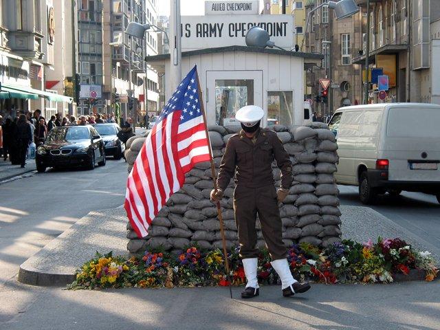 Duitsland - Berlijn - Checkpoint Charlie
