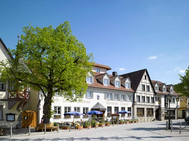Bad Mergentheim - Hotel Weinstube Lochner ***+ - aanzicht