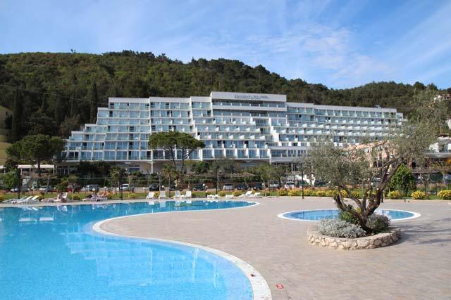 Rabac - Hotel Mimosa **** - zwembad