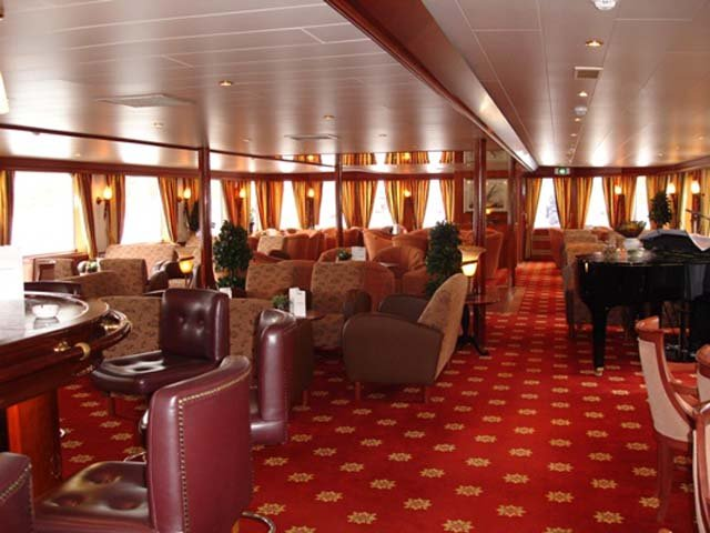 Schip MS Rigoletto **** - lounge