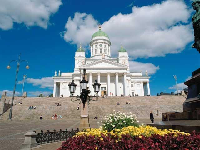Finland - Helsinki Kathedraal