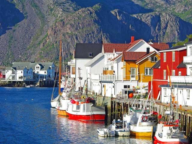 Noorwegen - Lofoten - Honnigsvaer