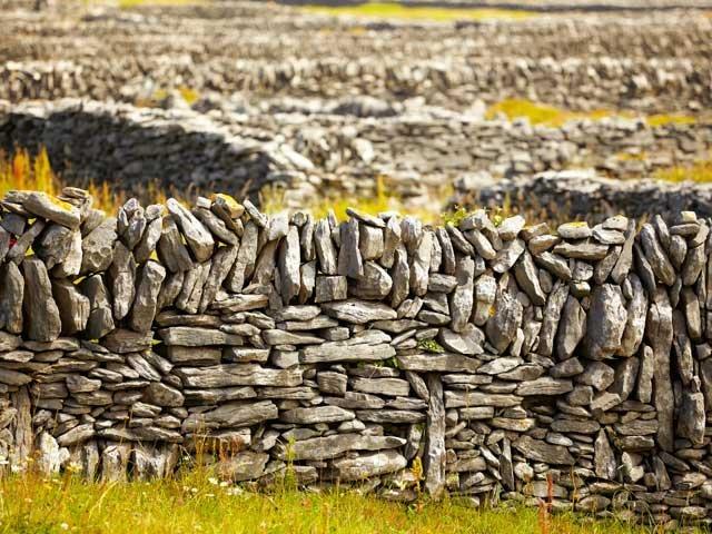 inisheer island stenen muren- natuur
