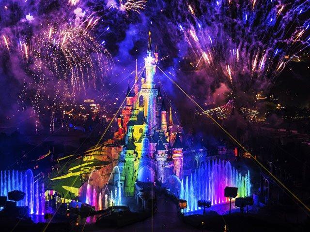 Disneyland Paris - Disneyland Park - Disney Illuminations