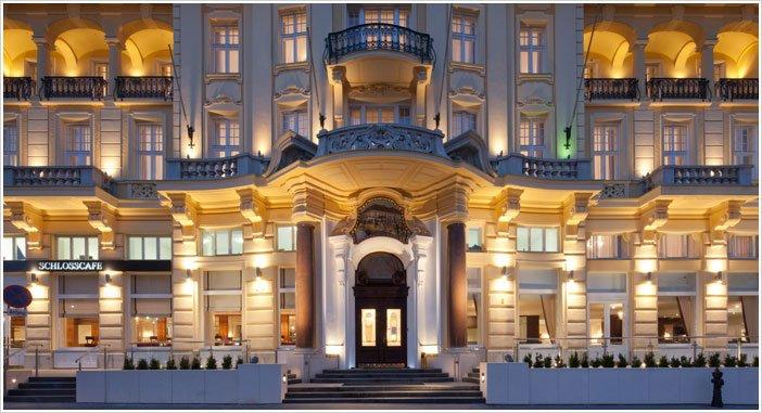 Wenen - Parkhotel Schönebrunn **** - aanzicht