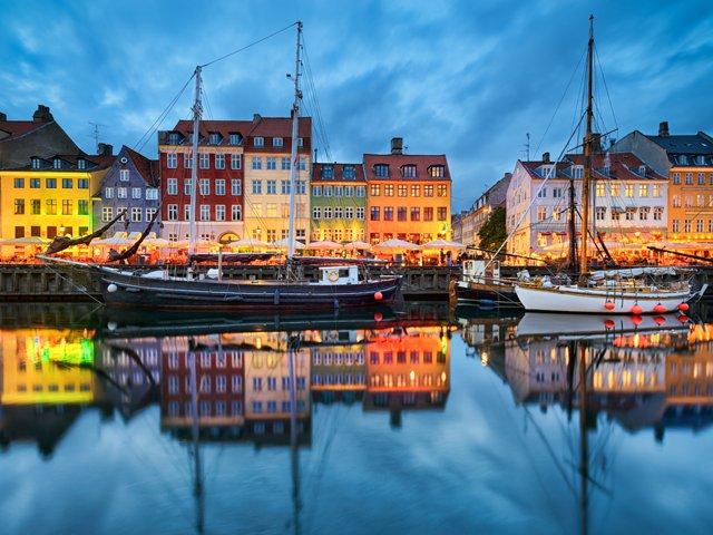 Denemarken - Kopenhagen - Nyhavn