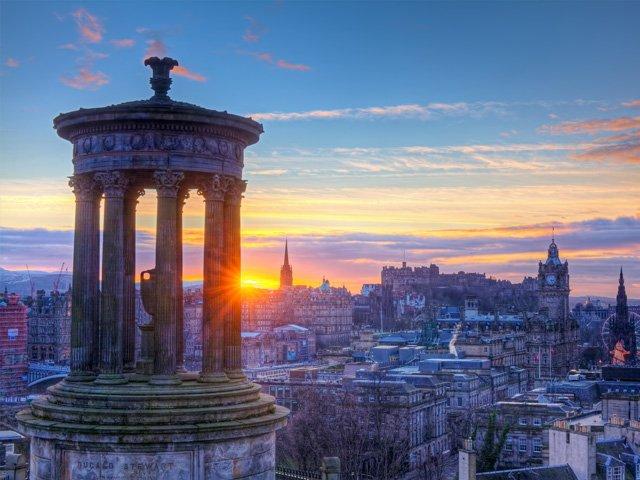 Groot - Brittanië - Schotland - Edinburgh - stadsgezicht