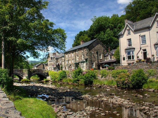 Groot Brittanië - Wales - Snowdonia National Park - Bedgellert