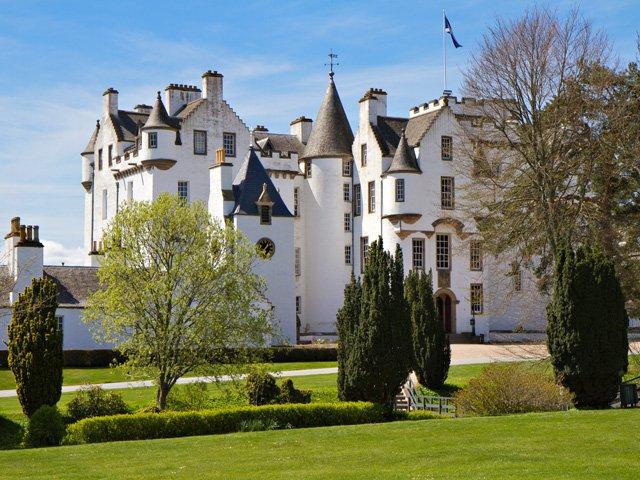 Groot - Brittanië - Schotland - Blair Castle