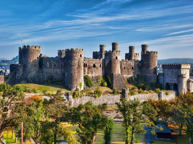 Groot Brittanië - Wales - Conwy - Conwy Castle