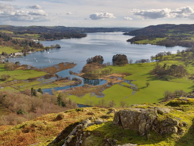 Groot Brittanië - Noord - Engeland - Lake District  - Lake Windermere