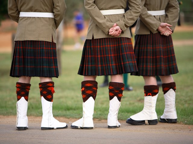 Schotland - Schotse kilt