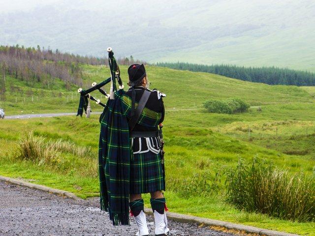 Schotland - Doedelzakspeler