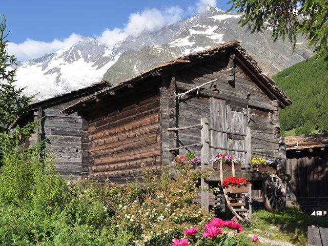 Zwitserland - Saasdal
