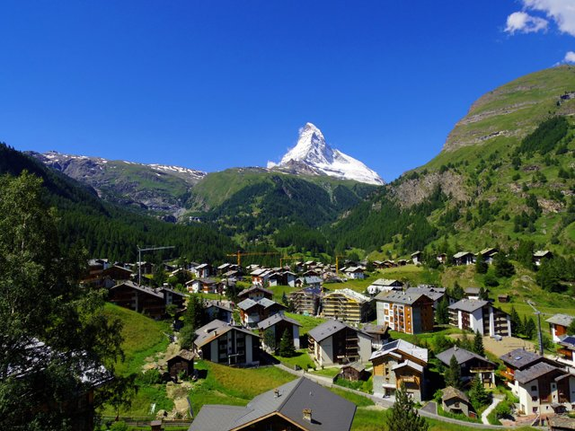 Zwitserland - Zermatt - Matterhorn