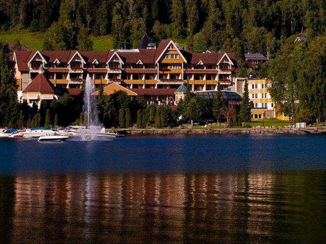 Fagernes - Hotel Scandic Valdres **** - aanzicht