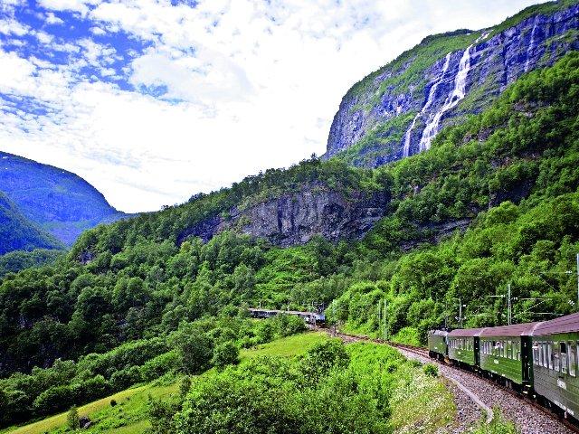 Noorwegen - Flambanen