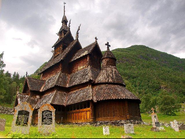 Noorwegen - Borgund - Staafkerk