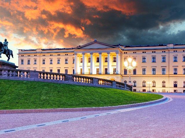 Noorwegen - Oslo - Koninklijk Paleis