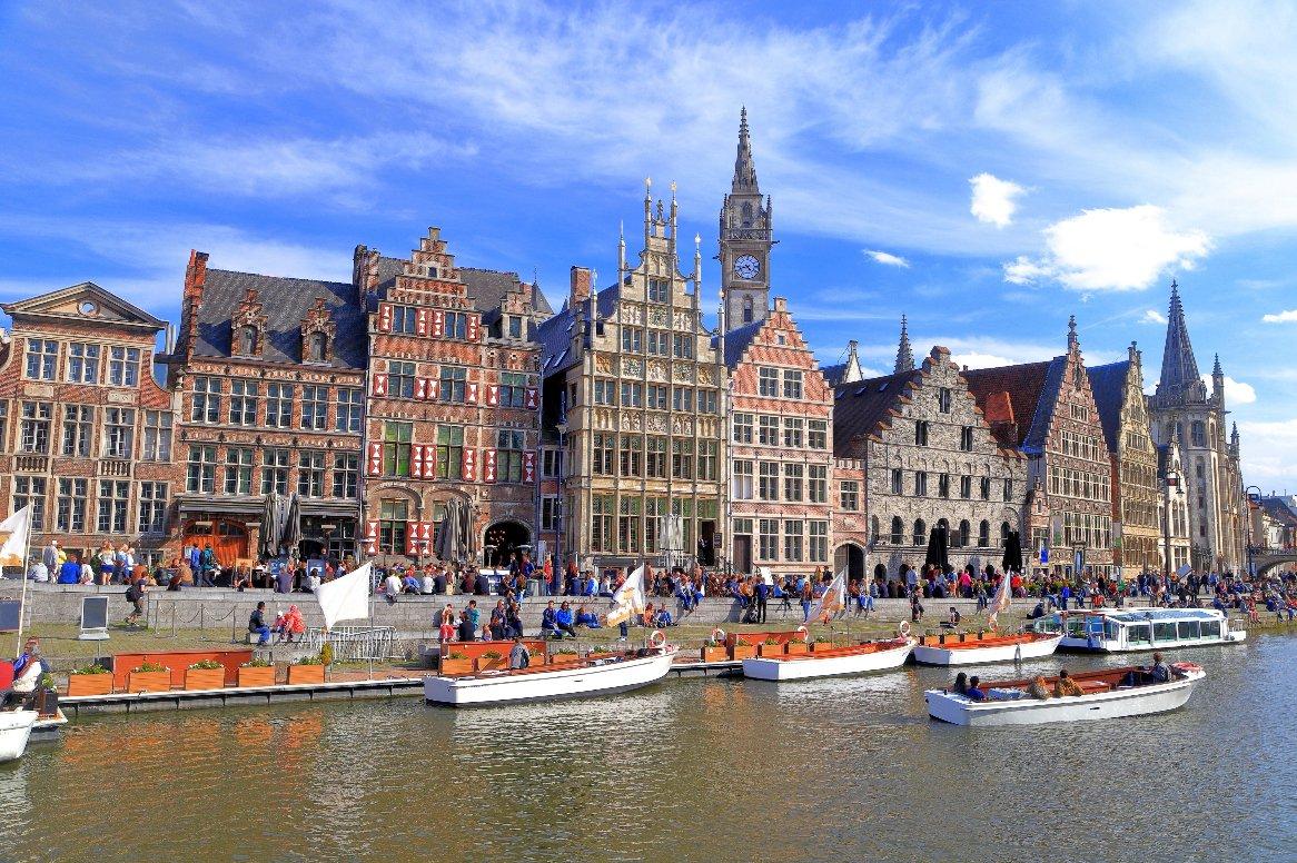 Cruise Parels van Belgie, Antwerpen, Brussel & Gent