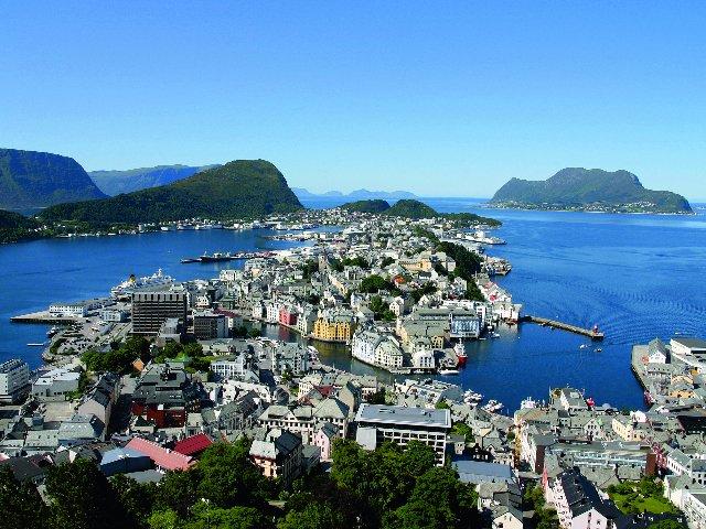 Noorwegen - Alesund