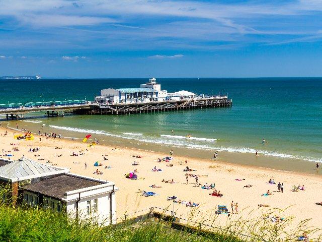Groot-Brittannië - Zuid - Engeland - Bournemouth - Pier