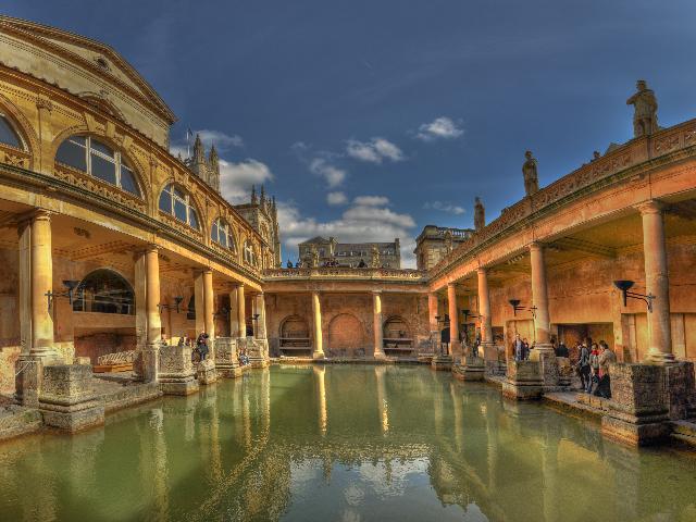 Groot - Brittanië - Bath - Romeinse baden