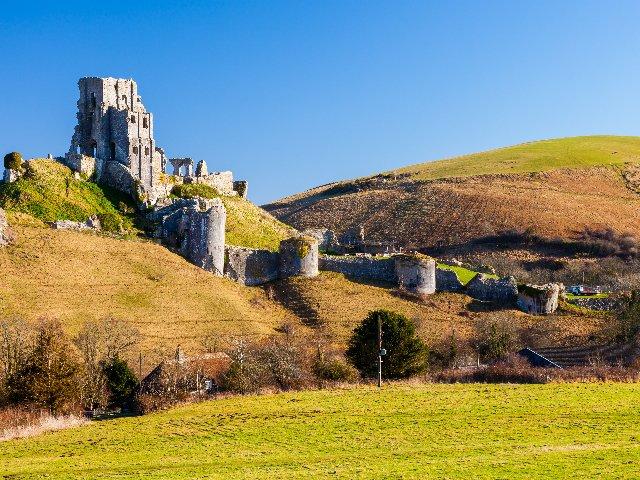 Groot-Brittannië - Zuid - Engeland - Purbeck - Corfe Castle