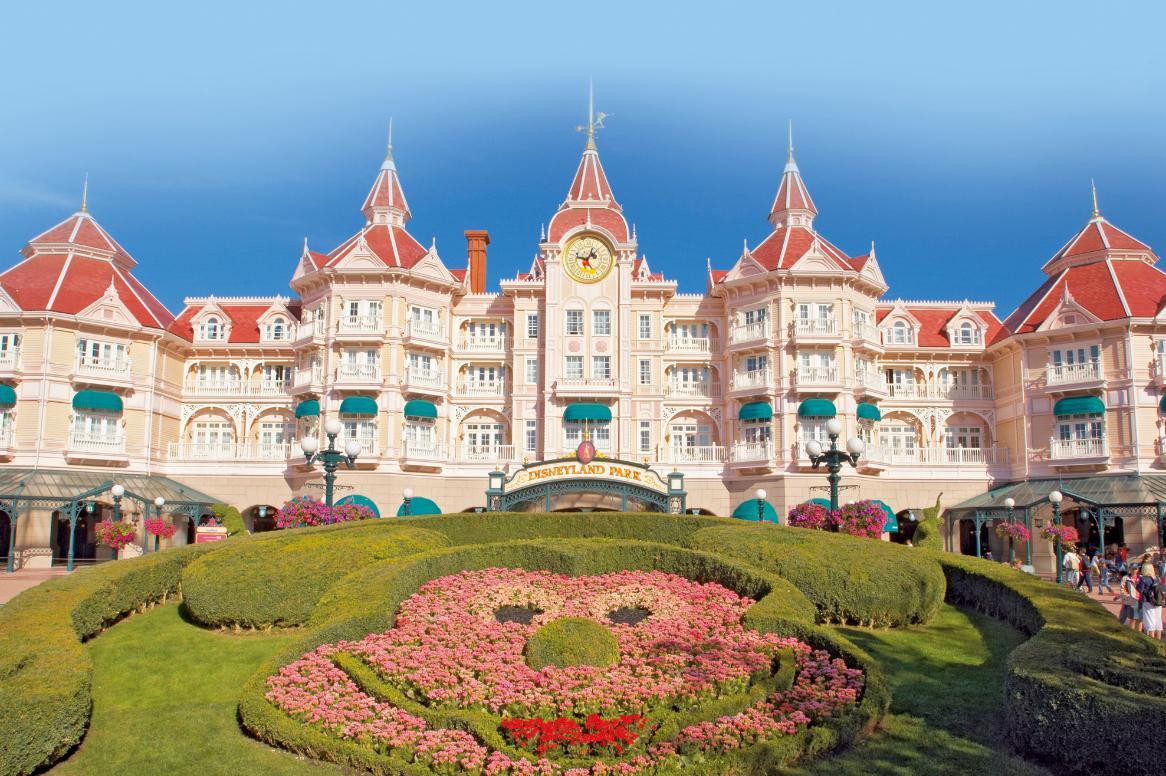 Disneyland Paris - Disneyland Hotel - aanzicht