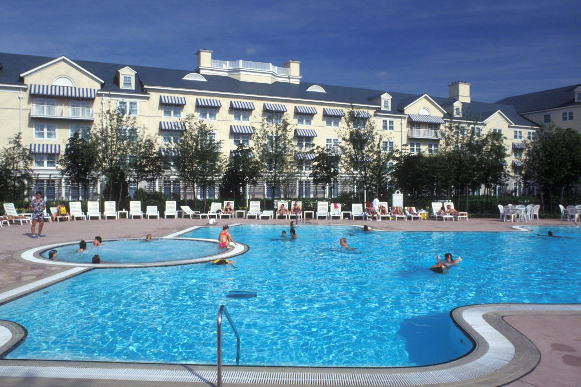 Disneyland Paris - Disney's Newport Bay Club - zwembad