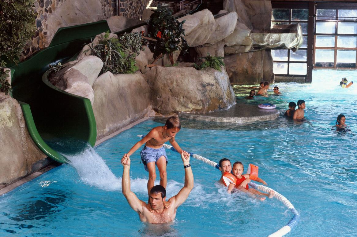 Disneyland Paris - Disney's Hotel Sequoia Lodge - zwembad