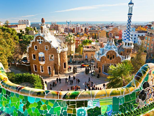 Spanje - Barcelona - Park Guell