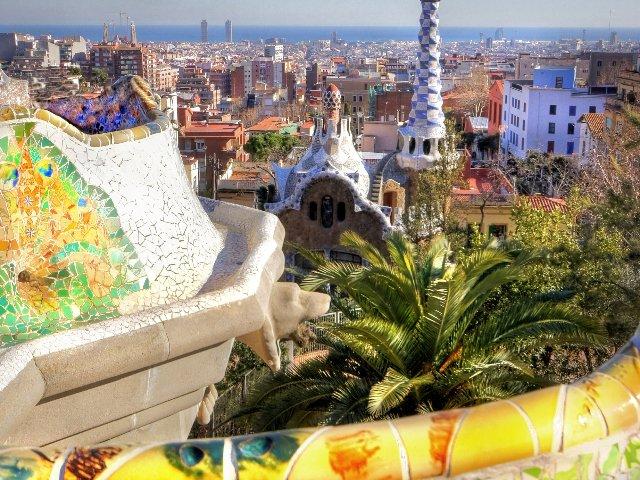Spanje - Costa Barcelona - Barcelona - Park Guell