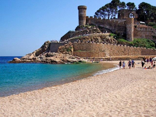 Spanje - Costa Brava - Tossa de Mar