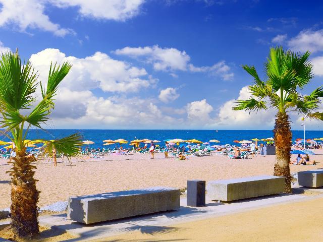 Spanje - Costa Brava - Strand