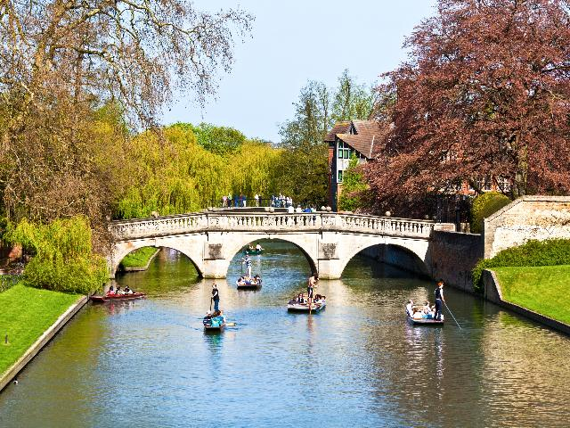 Engeland - Cambridge - River Ely