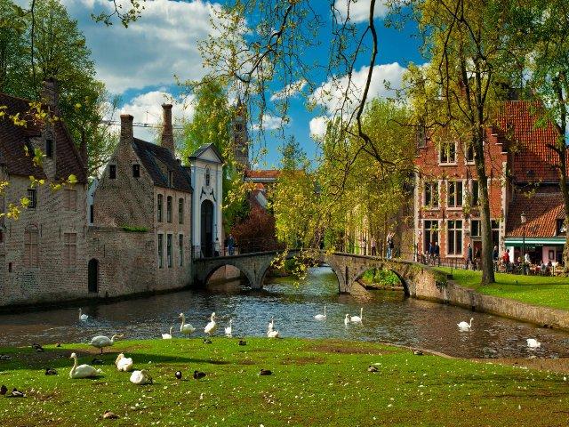 Lente in Brugge