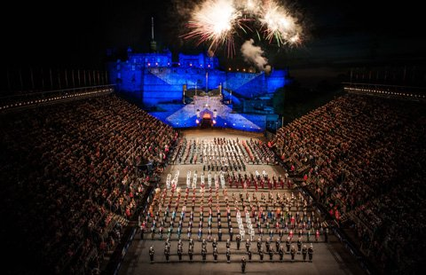 Groot Brittannië - Schotland - Edinburgh - Military Tattoo