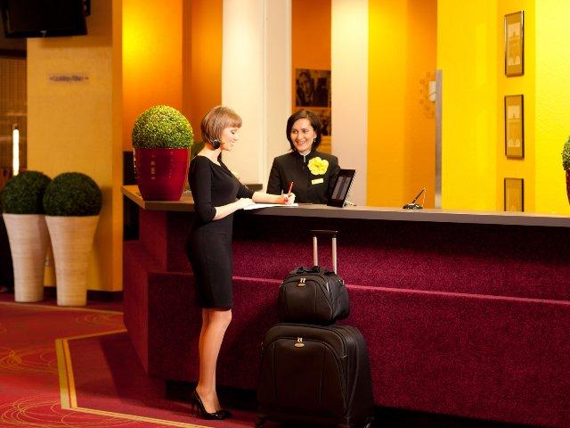 Krakau - Hotel Vienna House Easy Chopin*** - receptie