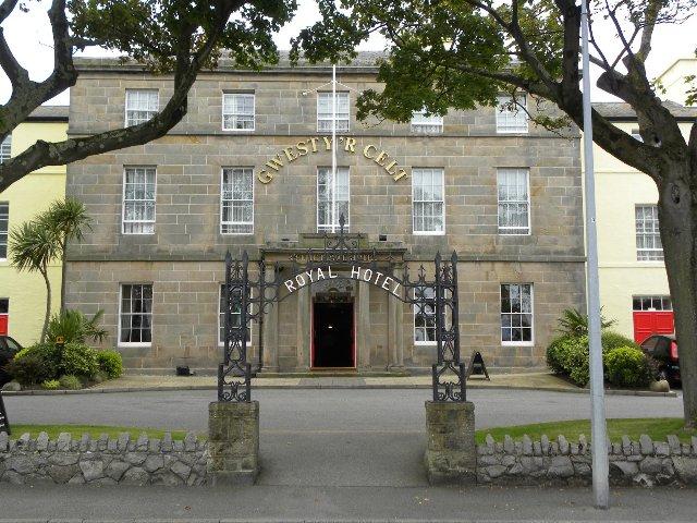 Caernarfon - Celtic Royal Hotel ***+ - aanzicht