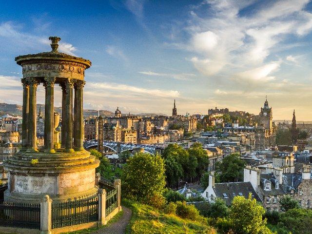Groot - Brittanië - Schotland - Edinburgh - Castle Hill