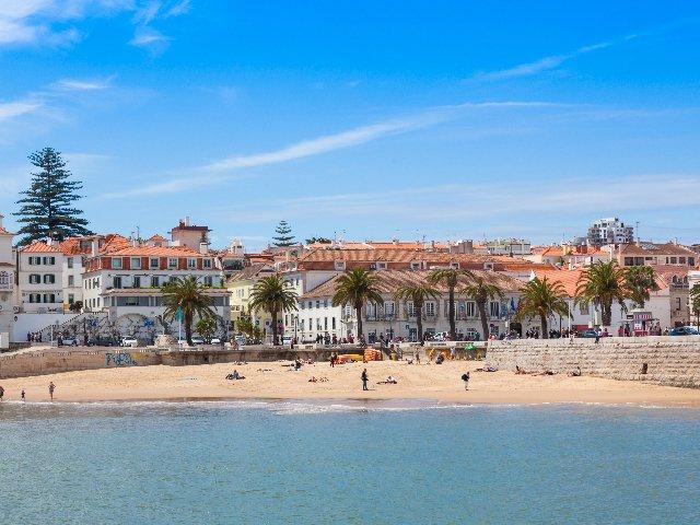 Portugal - Cascais - Strand van Cascais