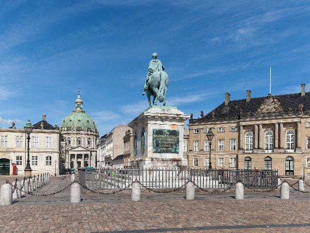 Denemarken - Kopenhagen - Kasteel Amalienborg